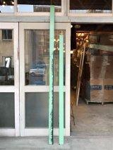 バーンウッド 天井、床見切り モールディング トランザム  壁材 廃材 装飾 ライトグリーン アンティーク ビンテージ