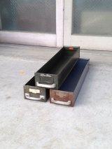 メタルドロワー 引き出し ボックス カーキ グレー インダストリアル アンティーク ビンテージ