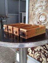 木製ドロワー チーズクレート ウッドボックス 取っ手付き アンティーク ビンテージ