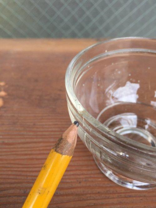 other photographs.3: ガラスボトル 2個セット インクボトル 蓋付き カップ 器 Skrip スモールコンテナ代わりに アドバタイジング アンティーク ビンテージ