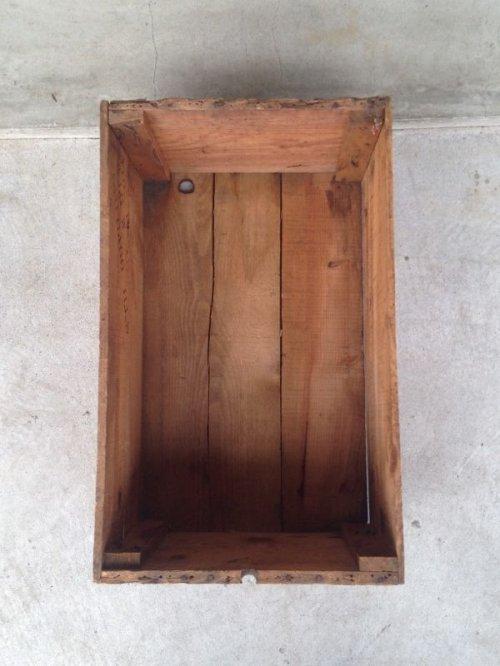 other photographs.1: ウッドボックス ECLIPSE MACHINE CO. 木箱 ストレージボックス アンティーク ビンテージ