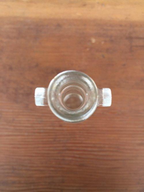 other photographs.2: ガラスボトル 3本セット 薬瓶 クリアボトル コルク 一輪挿し アンティーク ビンテージ