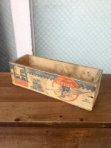 1950'S CHEESE CRATE チーズBOX チーズクレート VALIO FINLAND ウッドボックス 木箱 ストレージ アドバタイジング アンティーク ビンテージ