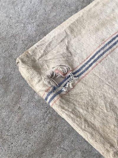 画像5: 1930'S 40'S シードサック コットンサック ダッフルバッグ ステンシル CINCINNATI SEAMLESS 穀物袋 アンティーク ビンテージ