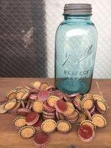 1900'S 10'S Ball perfect MASON jar half-gallon ハーフガロン メイソンジャー グラスジャー 保存瓶 蓋付き 王冠 アンティーク ビンテージ