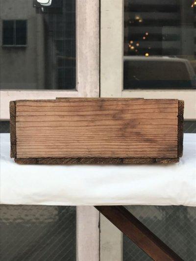 画像4: ウッドボックス 木箱 ストレージボックス アンティーク ビンテージ