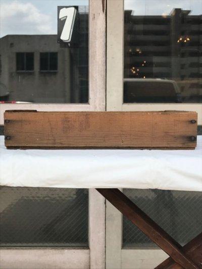 画像3: ウッドボックス 木箱 ストレージボックス アンティーク ビンテージ