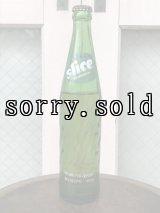 デッドストック 中身入り 未開封 アメリカ SODA BOTTLE ソーダボトル ポップボトル 中身入り ガラス瓶 SLICE クリアガラス アンティーク ビンテージ