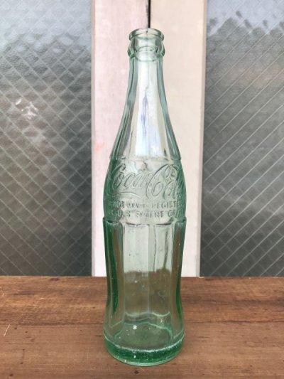 画像3: エンボスボトル SODA BOTTLE ソーダボトル ポップボトル ガラス瓶 コカコーラ COKE 色つきガラス アンティーク ビンテージ