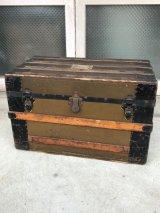 トランク 大型 スーツケース 店舗什器に アンティーク ビンテージ