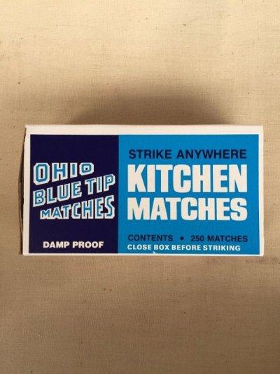 画像2: 80's マッチ箱 KITCHEN MATCHES 紙箱 マッチ 2箱セット デッドストック アドバタイジング アンティーク ビンテージ