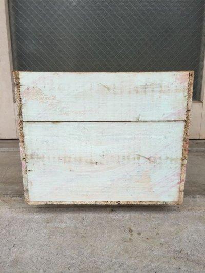 画像5: ウッドボックス シャビーペイント 木箱 ストレージボックス アンティーク ビンテージ