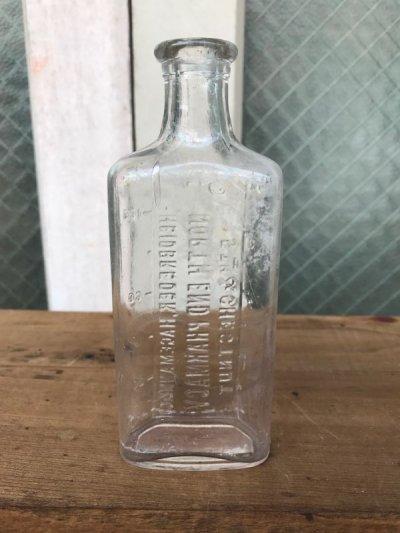 画像4: 19世紀 1860'S 70'S 80'S メディスンボトル 瓶 クリアガラス 色付きガラス アンティーク ビンテージ