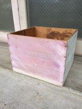 ウッドボックス シャビーペイント 木箱 ストレージボックス アンティーク ビンテージ