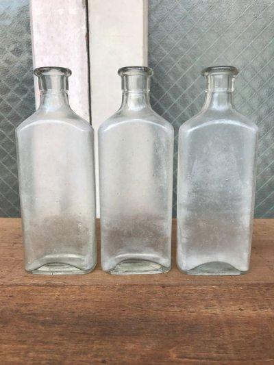 画像3: 19世紀 1860'S 70'S 80'S メディスンボトル 瓶 クリアガラス アンティーク ビンテージ