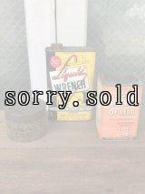 1910'S 20'S 30'S ティン缶 3個セット ポイズン缶 POISON SKULL ドクロ スカル物 liquid wrench アドバタイジング アンティーク ビンテージ