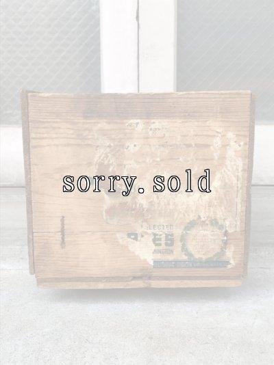 画像3: ウッドボックス Season's Greetings 木箱 ストレージボックス アンティーク ビンテージ