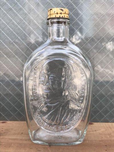 画像2: ガラスボトル バラエティー 4本セット 瓶 フラワーベース 陶器 クリアガラス 色付きガラス アンティーク ビンテージ