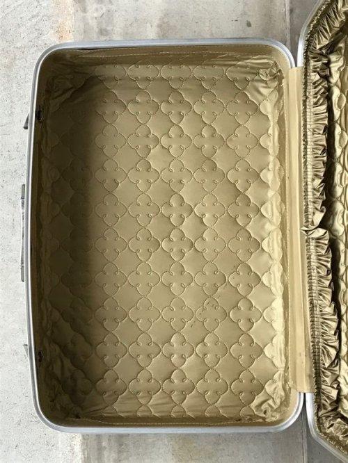other photographs.3: 70'S トランク 小型 スーツケース 深緑 店舗什器に アンティーク ビンテージ