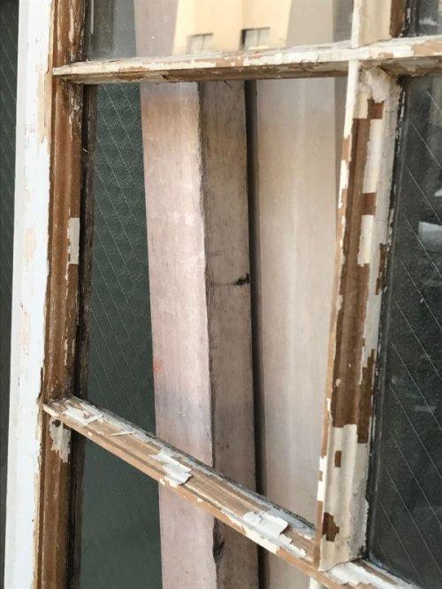 other photographs.3: shabby chic シャビーシック 木枠ガラス 窓  8分割 木製 ホワイト アンティーク ビンテージ