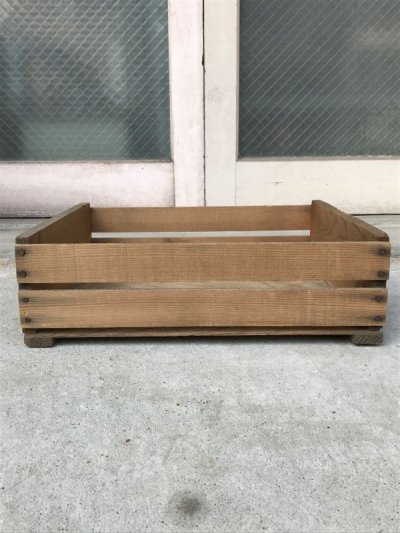 画像3: ベジタブルクレート フルーツクレート richard bagdasarian inc. ウッドボックス 木箱 アドバタイジング アンティーク ビンテージ