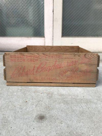 画像2: ベジタブルクレート フルーツクレート richard bagdasarian inc. ウッドボックス 木箱 アドバタイジング アンティーク ビンテージ