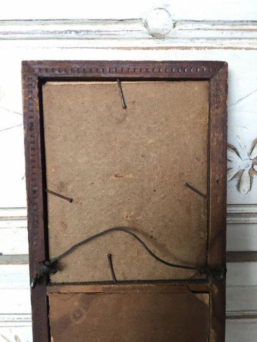 other photographs.2: ウッドフレームミラー ビクトリアン 装飾 鏡 ミラー アンティーク ビンテージ