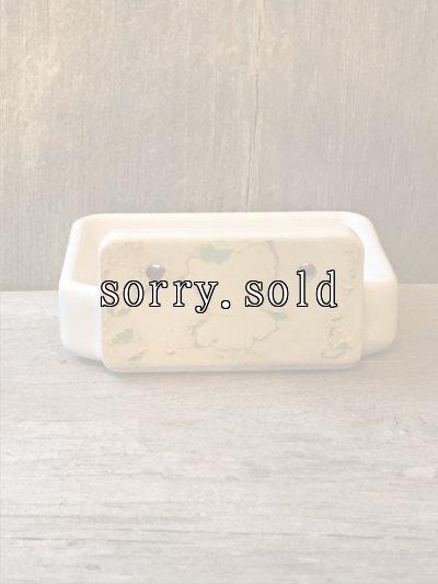 画像3: 洗面 ソープディッシュ ウォールマウント 石鹸台 陶器 ポーセレン ポーセリン アンティーク ビンテージ