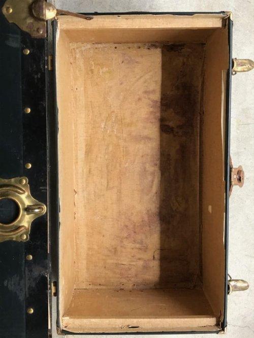other photographs.3: トランク 大型 スーツケース デカール miami univercity 店舗什器 アンティーク ビンテージ