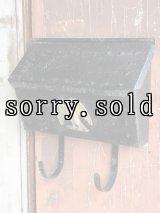 U.S.MAIL BOX アメリカ ポスト メールボックス 壁掛け イーグル 装飾 メタル ブラック アンティーク ビンテージ