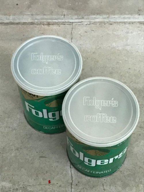 other photographs.2: ティン缶 4個セット FOLGERS COFFEE アンティーク ビンテージ