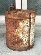 ガソリン缶 FS オイル缶 シャビーシック 大型 アンティーク ビンテージ