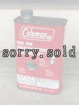 1960'S レア ティン缶 ホワイトガソリン fuel コールマン Coleman 200a ビンテージ アンティーク