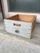 ウッドボックス Western RIFLE 取っ手付き 木製ドロワー アドバタイジング アンティーク ビンテージ