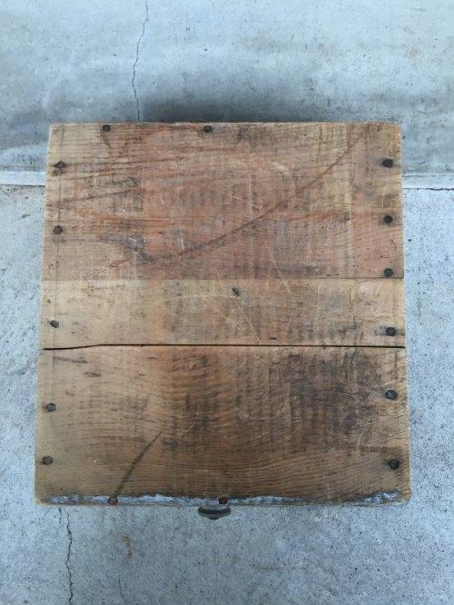 other photographs.3: ウッドボックス Western RIFLE 取っ手付き 木製ドロワー アドバタイジング アンティーク ビンテージ