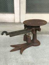 1880'S 1890'S 1900'S 1910'S heavy iron scale 秤 はかり スケール ヘビーデューティー アイアン アンティーク ビンテージ