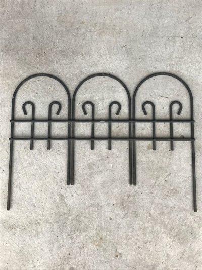 画像2: 1960'S 70'S 柵 ガーデンフェンス フェンス アイアン ワイヤー ヘヴィーデューティ ガーデニング アンティーク ビンテージ