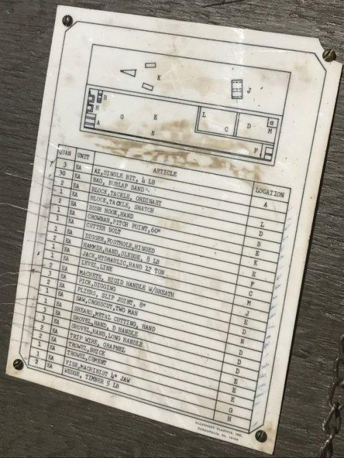 other photographs.3: 1960'S ストレージボックス ミリタリー U.S.ARMY アーミー 超大型 ツールボックス ウッドボックス アイアン ウッド アンティーク ビンテージ
