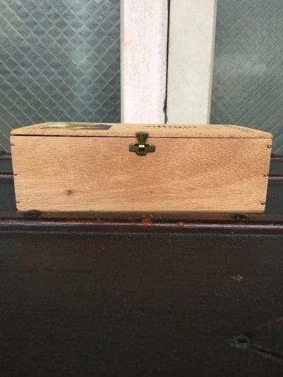 画像2: シガー木箱 villiger 葉巻 タバコ シガーボックス ギター アクセサリーケース アドバタイジング ビンテージ アンティーク