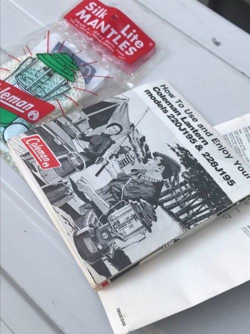 other photographs.3: COLEMAN コールマン デッドストック 220J ツーマントルランタン グリーン 1976年9月製造 箱付き アンティーク ビンテージ