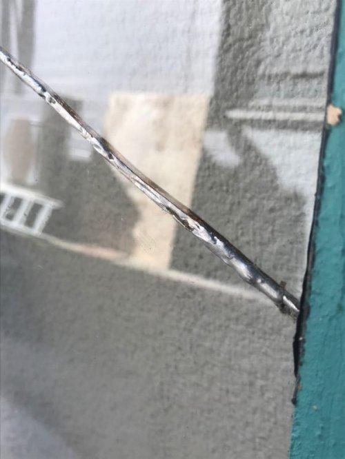 other photographs.1: 1880'S 90'S トランザムウインドー 木枠ガラス窓  茶×ターコイズ ショーウインドー ショーケース ウインドー アンティーク ビンテージ