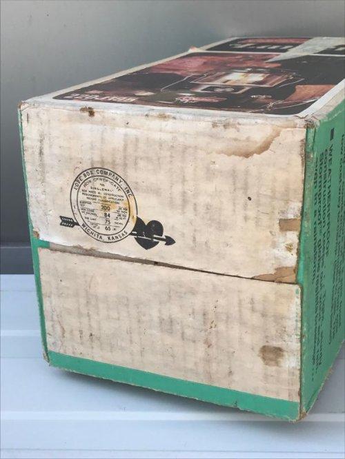 other photographs.1: COLEMAN コールマン デッドストック 220J ツーマントルランタン グリーン 1976年9月製造 箱付き アンティーク ビンテージ