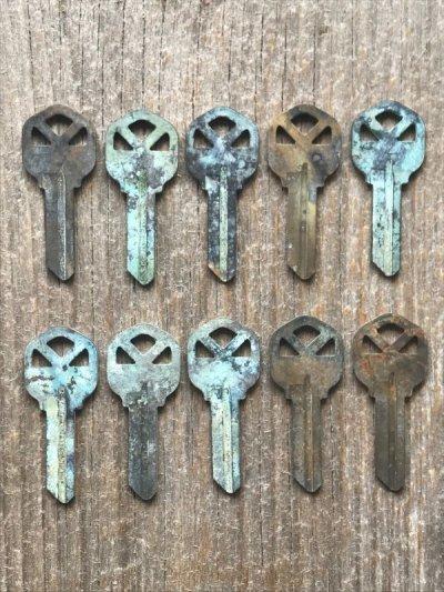 画像2: ブランクキー クイックセット kwikset カギ 合鍵 真鍮 ブラス アンティーク ビンテージ