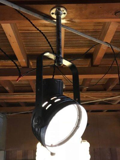 画像2: 1940'S 50'S インダストリアル シーリングスポットライト サーチライト spot light アイアン アルミ合金 ビンテージ