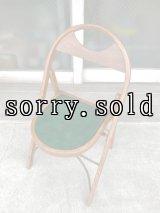 T様商談中 1940'S 50'S フォールディングチェア ベントウッド 椅子 折りたたみ椅子 ミントコンディション ビンテージ アンティーク