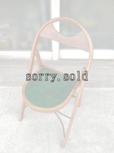 画像1: T様商談中 1940'S 50'S フォールディングチェア ベントウッド 椅子 折りたたみ椅子 ミントコンディション ビンテージ アンティーク