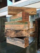 1930'S 40'S 50'S CHEESE CRATE チーズBOX チーズクレート SWIFT'S BROOKFIELD KRAFT AMERICAN ウッドボックス ミニ 木箱 チーズボックス アドバタイジング アンティーク ビンテージ