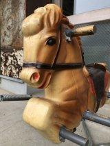 ライディング・トイ ロッキングホース 馬乗り遊具 アンティーク ビンテージ