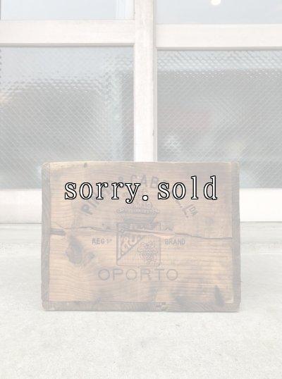 画像2: ウッドボックス PINHO&CABRAL OPORTO PORTUGUESE BRANDY ポルトガル ブランデー クレート PHILADELPHIA 木箱 ストレージボックス 店舗什器 アンティーク ビンテージ