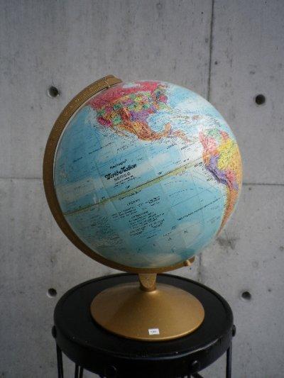 画像1: アンティーク 地球儀 グローブ Replogle製 World Nation SERIES GLOBE リプルーグル・グローブス ビンテージ
